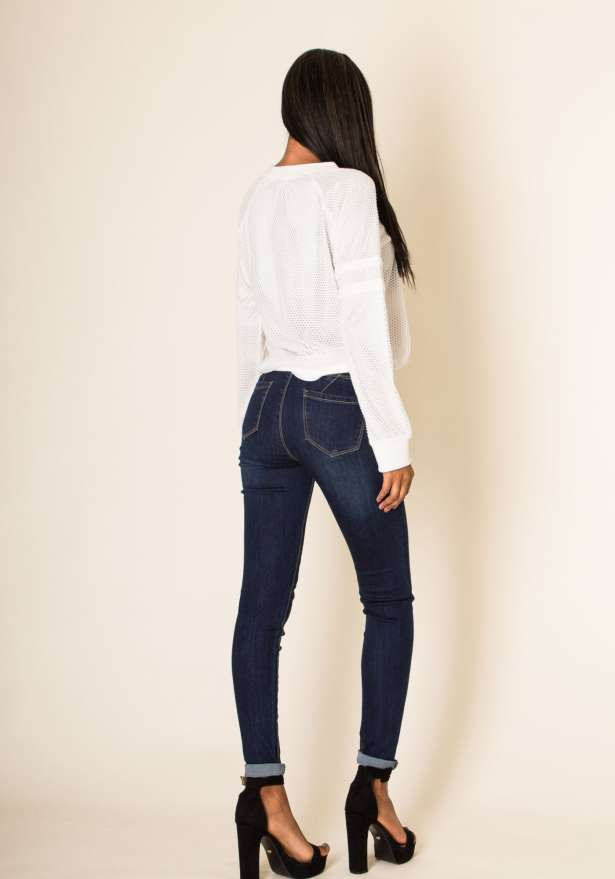 Push Up High Waisted Strecth Jeans